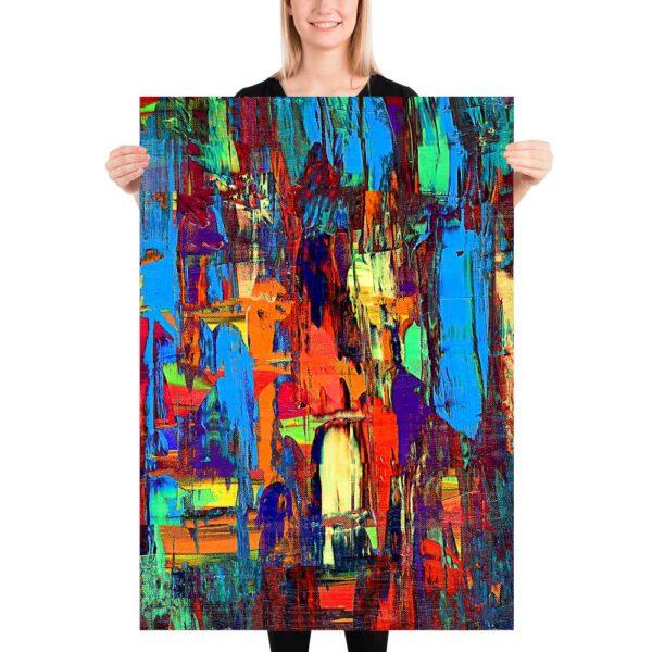 Store plakater med kunst til boligen Fireflies I 70x100 cm