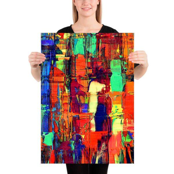 Kunst plakat Fireflies II 50x70 cm