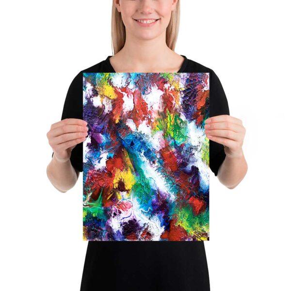 Kunst plakat Horizon I 30x40 cm