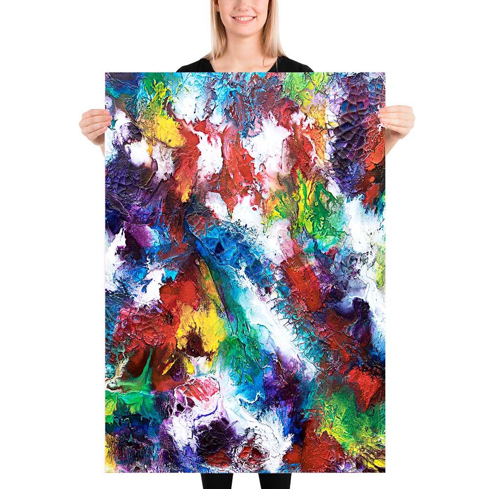 Moderne kunst plakater til din væg i hjemmet - Horizon I - 70x100 cm