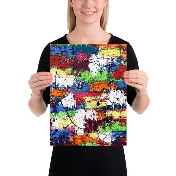 Kunst plakat Vibrant Moor I 30x40 cm
