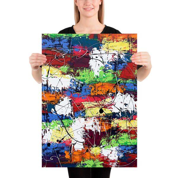 Kunstplakat Vibrant Moor I 50x70 cm