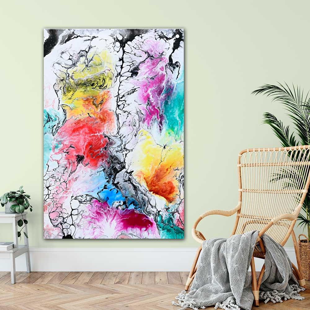 Moderne kunst plakater - Altitude II - 100x150 cm