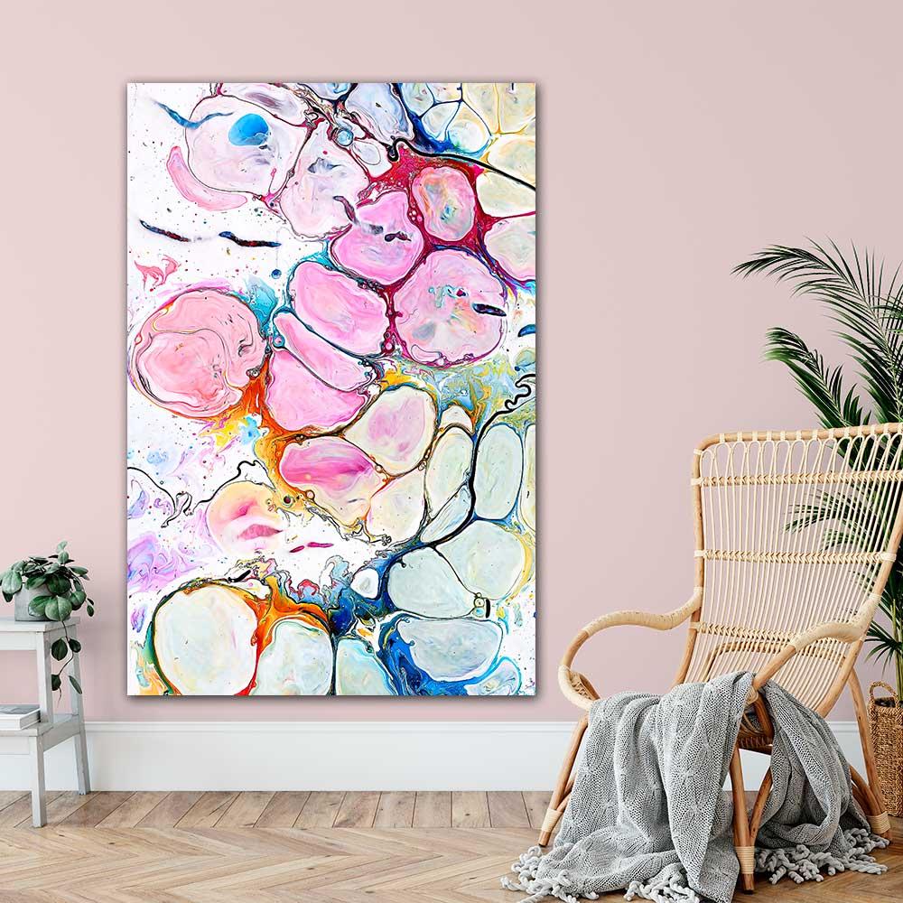 Store kunst plakater køb i galleri i Odense Alleviate II 100x150 cm