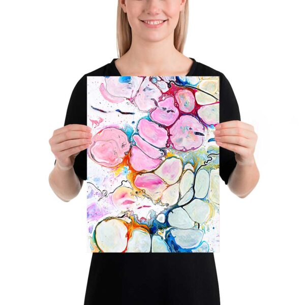 Små kunstplakater Alleviate II 30x40 cm