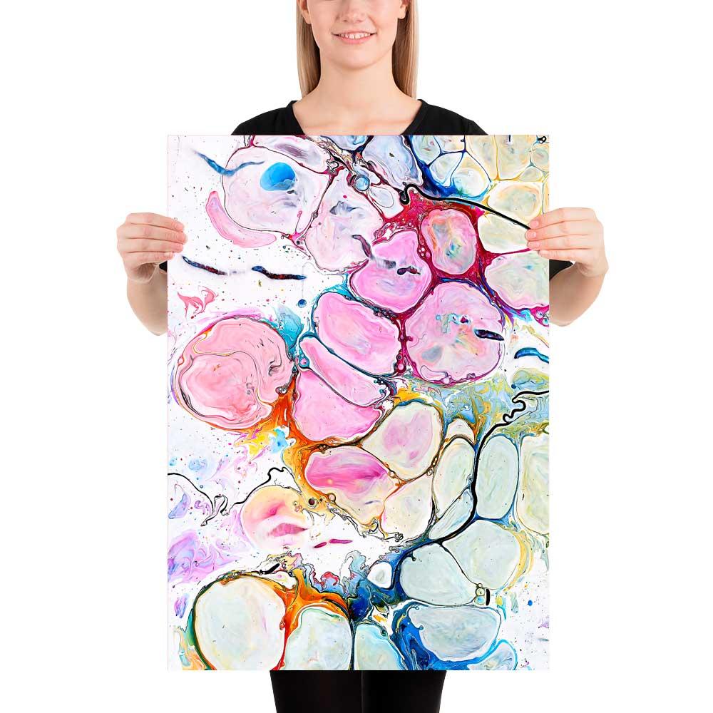 Køb kunst plakater online Alleviate II 50x70 cm