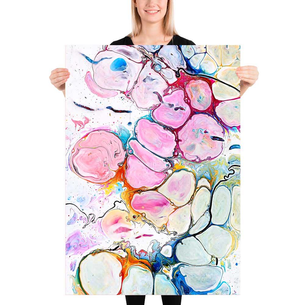 Kunst plakater til stuen Alleviate II 70x100 cm
