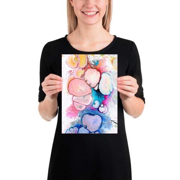 Kunst plakat Alleviate III 20x30 cm