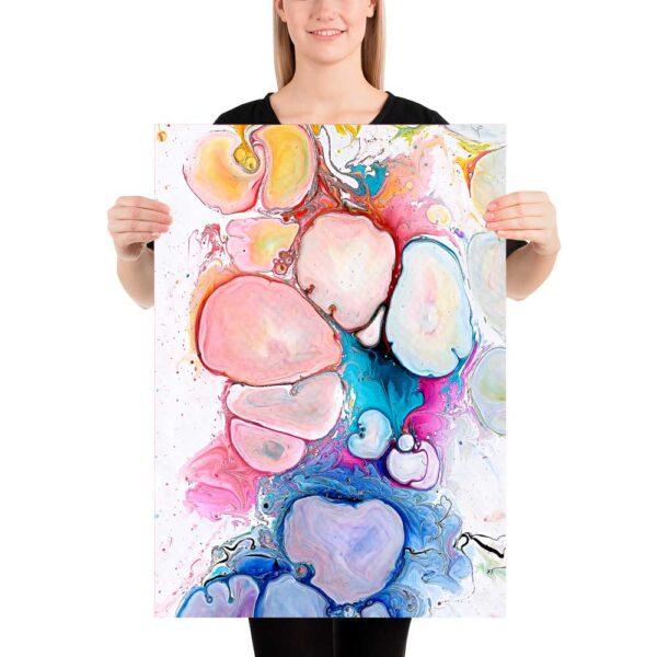 kunst plakater til væggen i soveværelset Alleviate III 50x70 cm