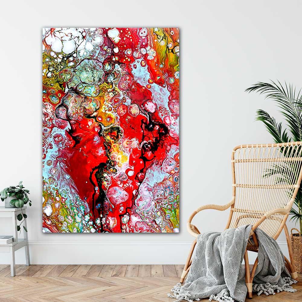 Store kunst plakater er flotte billeder til stuen køkkenet og soveværelset - Essence I 100x150 cm