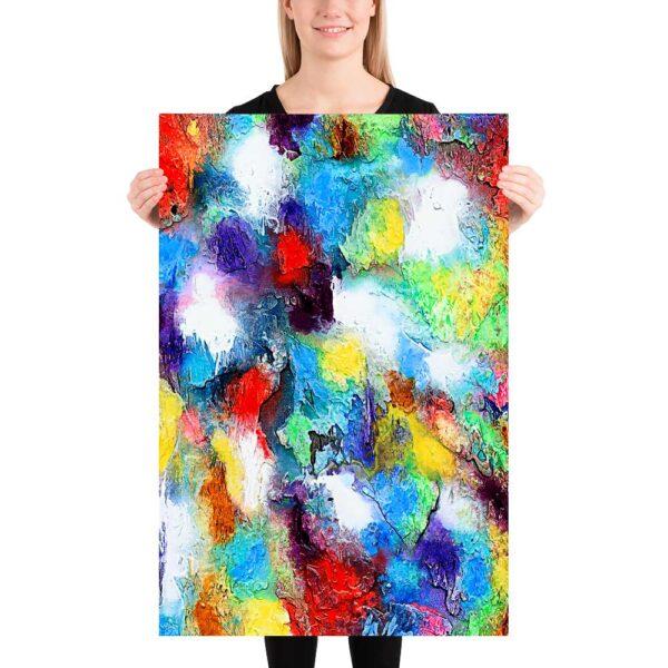Køb plakater med kunst online og få unikke abstrakte billeder til væggene i din bolig - Alteration II 60x90 cm