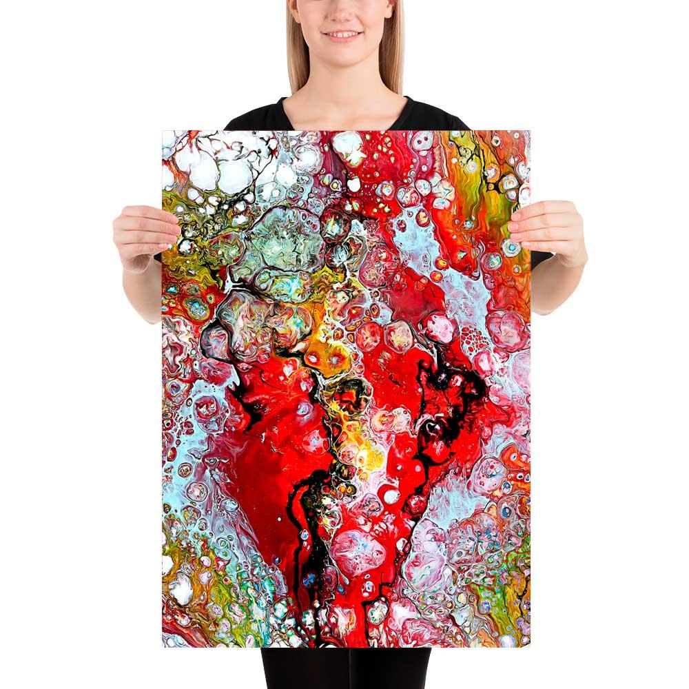 Køb kunst plakater online - flotte billeder der passer perfekt til indretning i en tidsløs klassisk stil i stuen - Essence I 50x70 cm