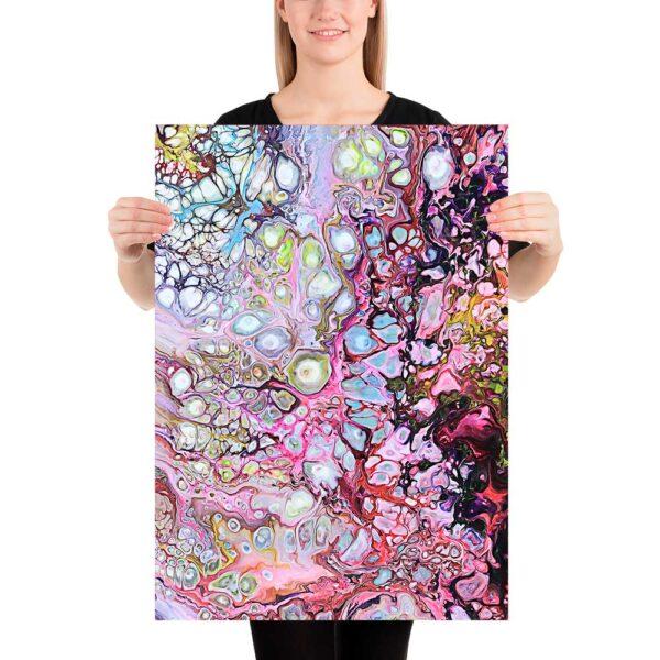 Kunst på plakater giver en tidsløst og klassisk dekoration af soveværelset - Passion I 50x70 cm