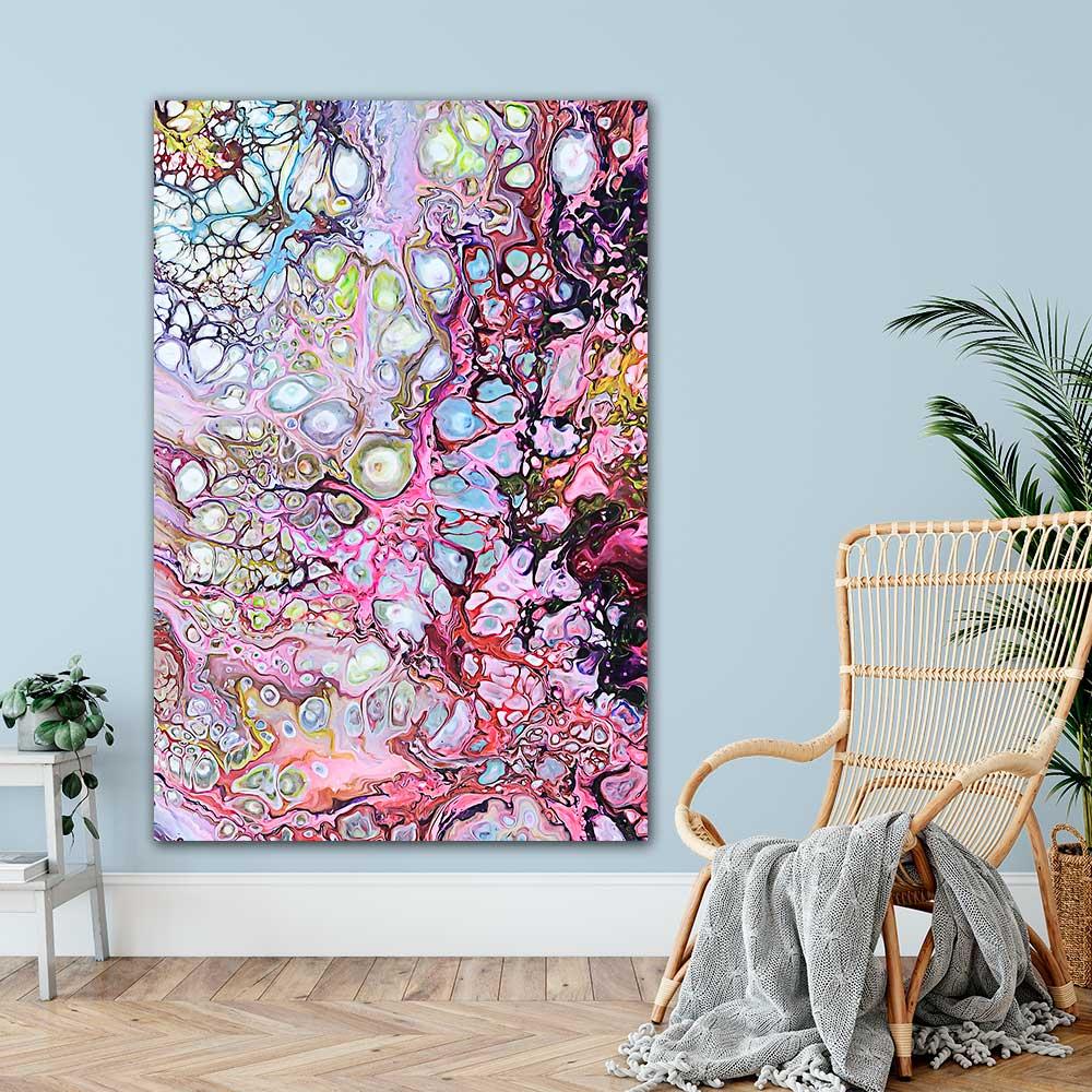 Store plakater med design kunst til hjemmet - Passion I 100x150 cm