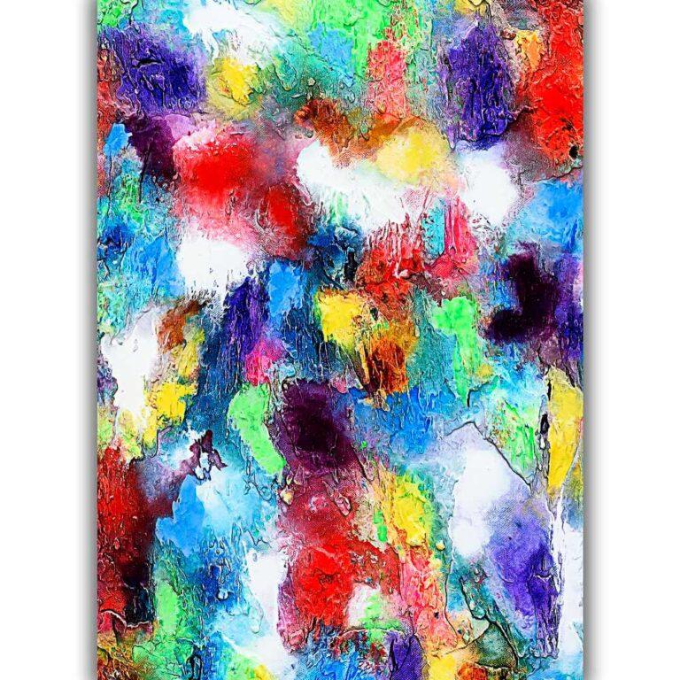 Plakater med kunst til væggen pynter i hjemmet og giver en behagelig afslappende atmosfære Alteration I