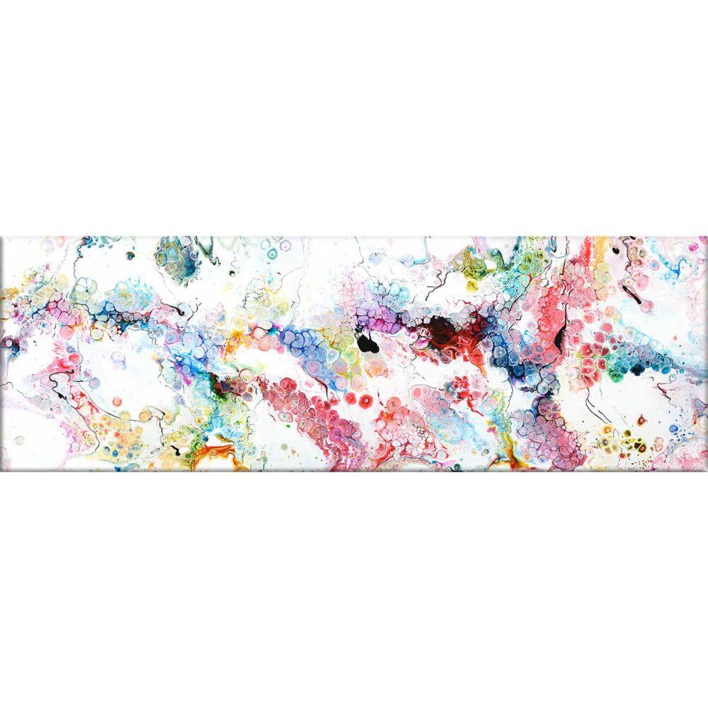 Alleviate I lærredstryk – abstrakte billeder er flot kunst til væggen i stuen