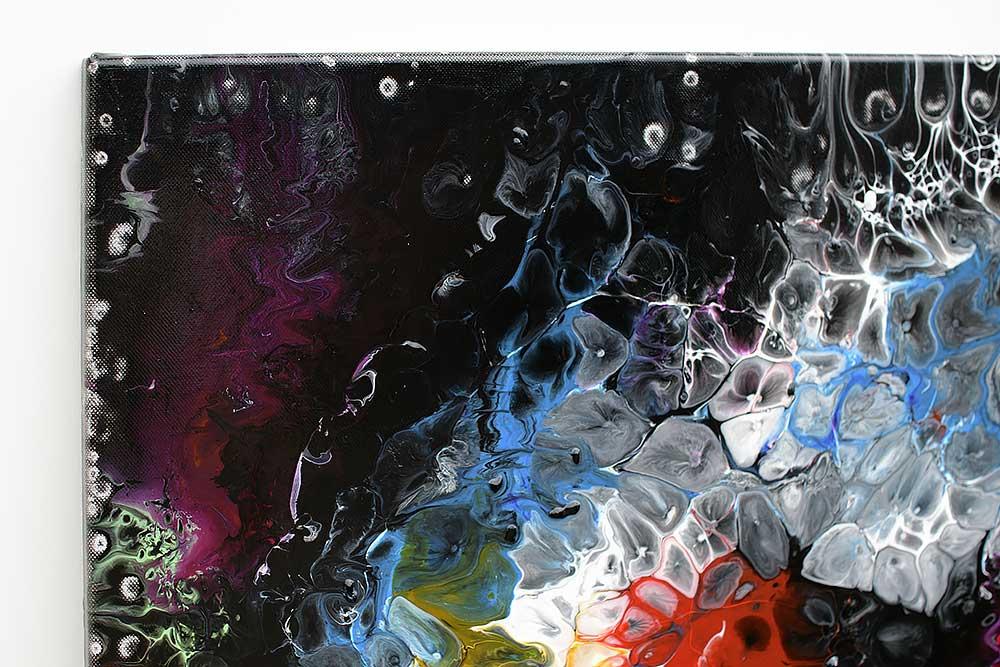 Store malerier er perfekt dekoration på væggen - Lights I 70x140 cm