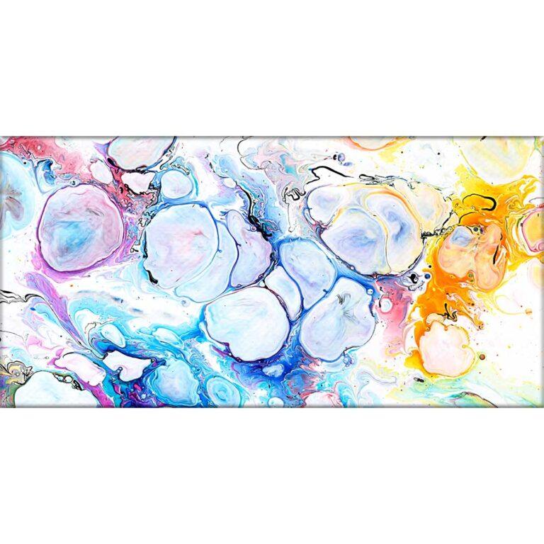 Abstrakte lærredstryk er flot og tidsløst kunst på lærred - Alleviate II 70x140 cm
