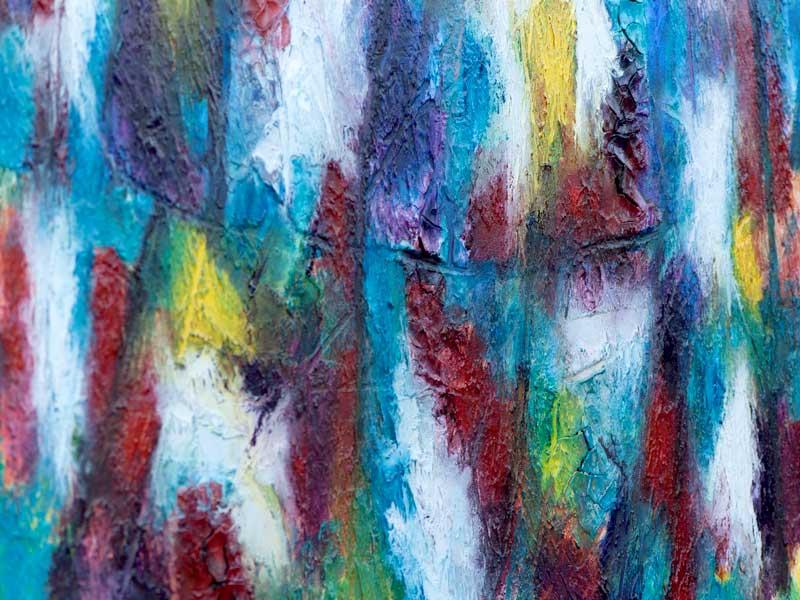 Akrylmalerier med flotte detaljer - Horizon II 80x60 cm