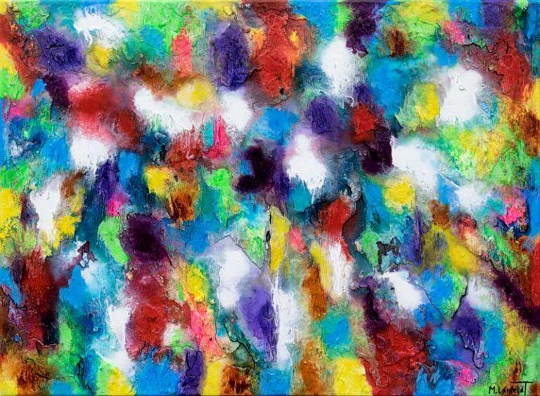 Flot billede til væggen i hjemmet - Alteration III 80x60 cm