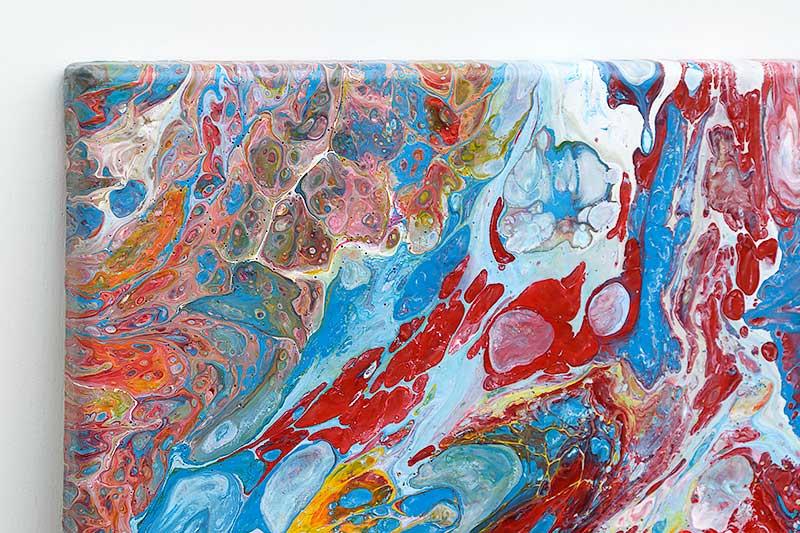 Malerier til soveværelset - Emotions I 60x60 cm