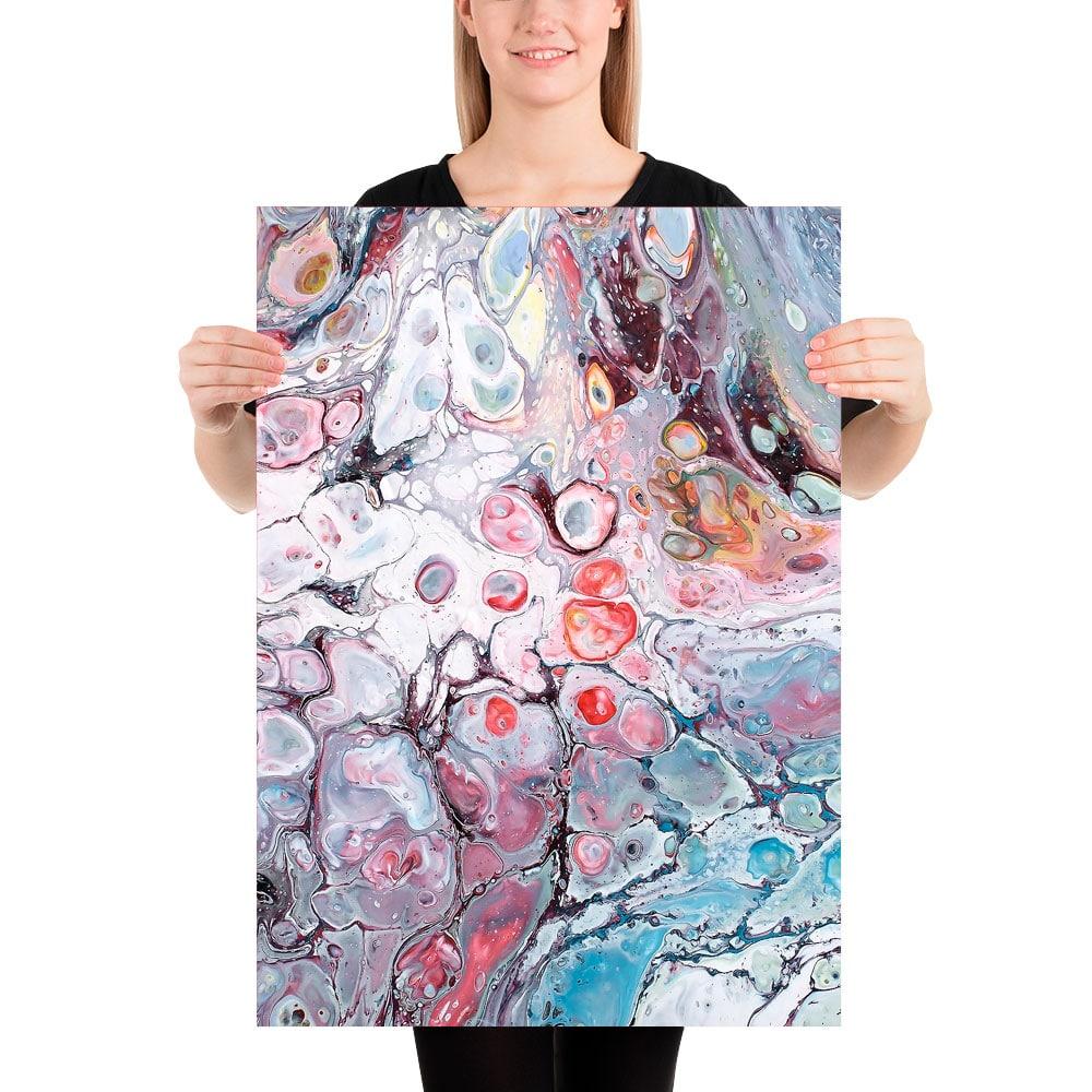 Abstrakt plakat med moderne kunst til køkkenet Allure I 50x70 cm
