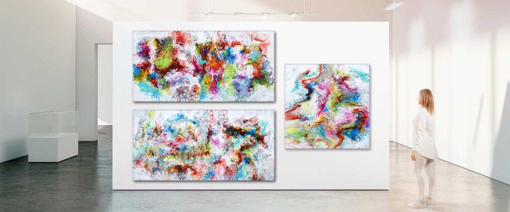 Udstillinger af kunstner Michael Lønfeldt - Art by Lønfeldt