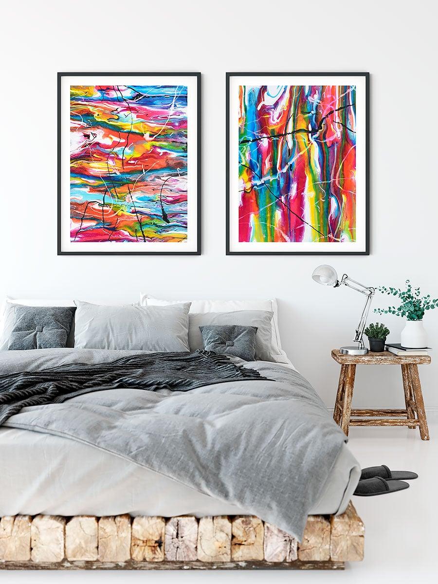 Kunst plakater til soveværelset