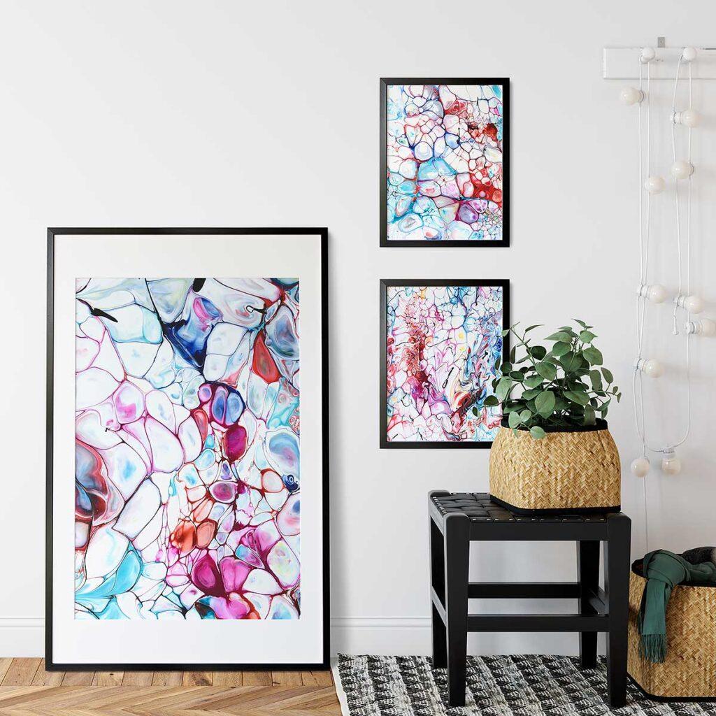 Kunstplakater til hjemmet