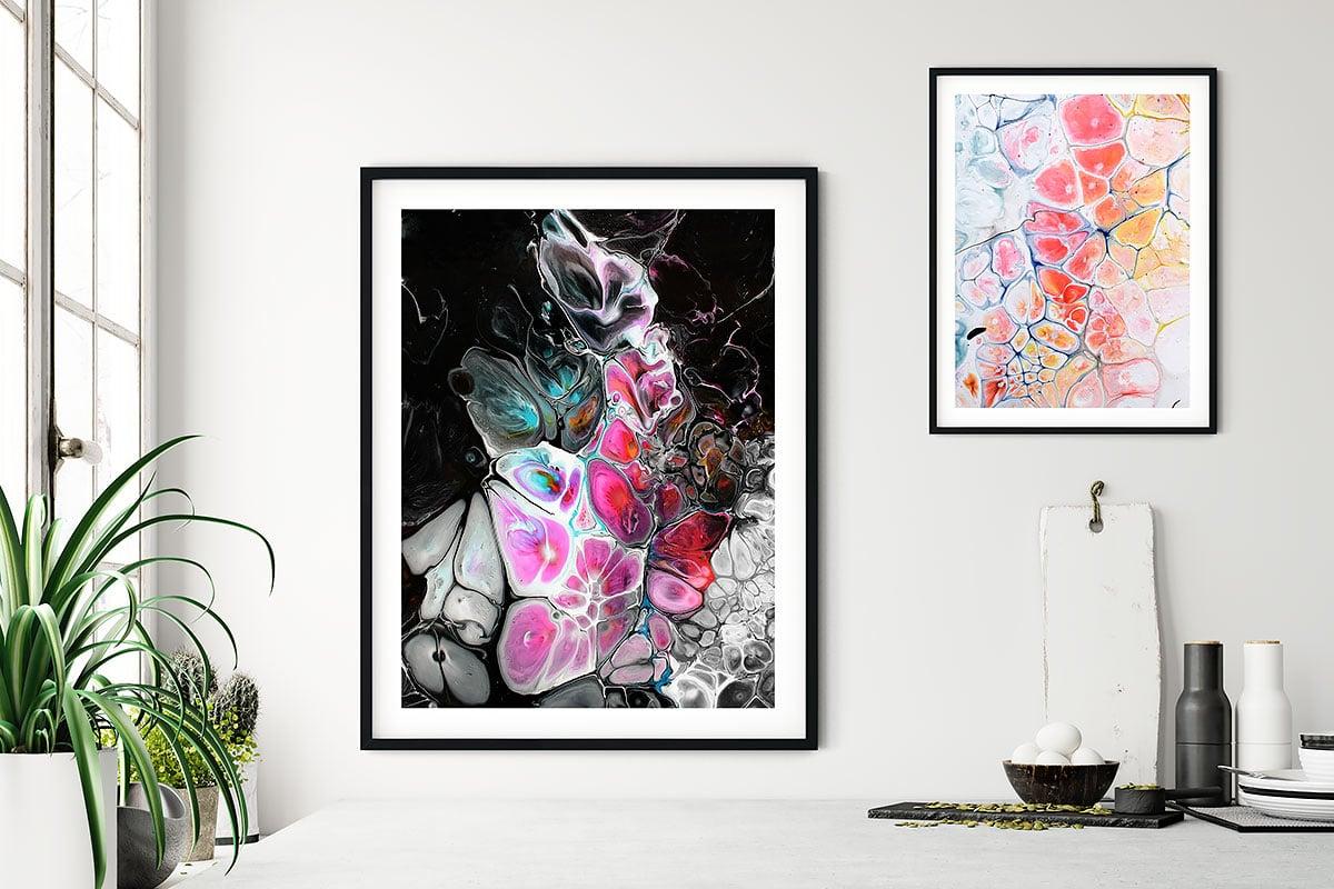 Kunstplakater til køkkenet - køkkenplakater