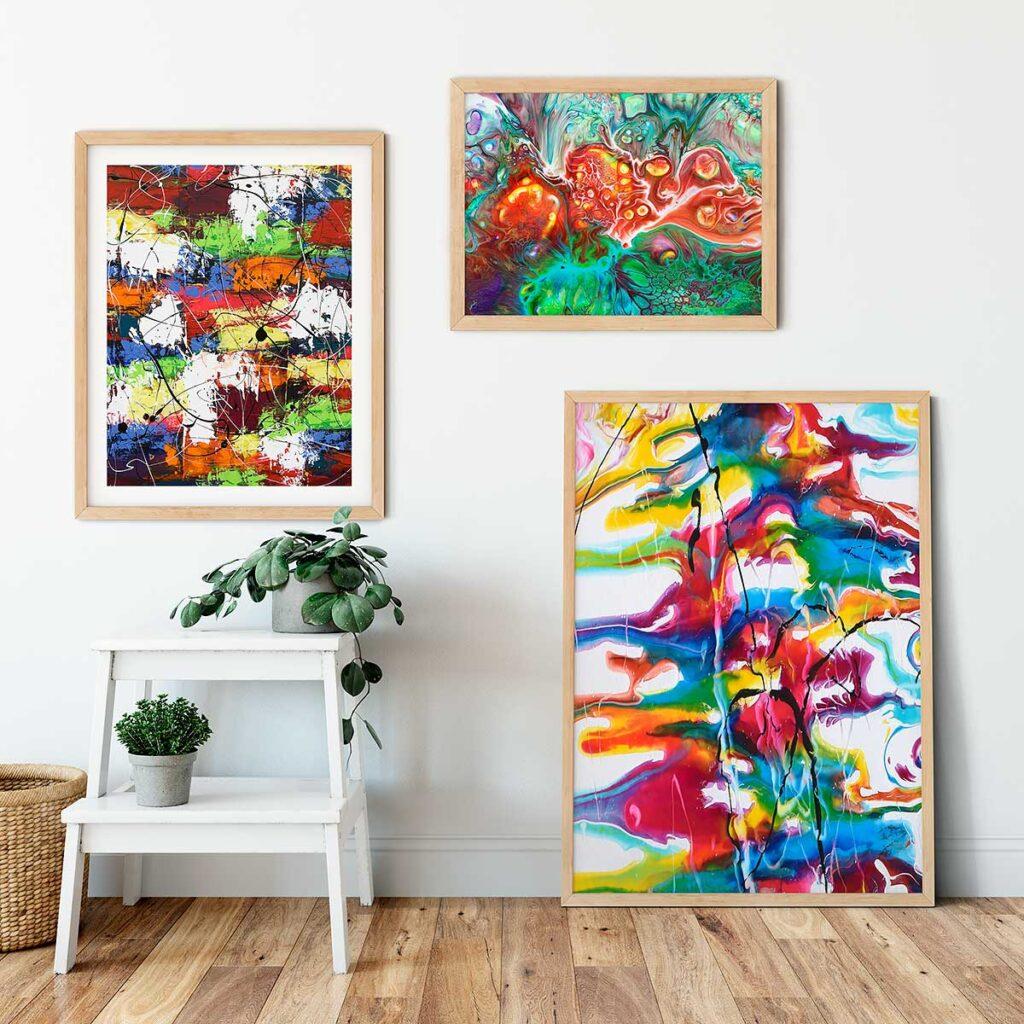 Plakater til væggen i hjemmet