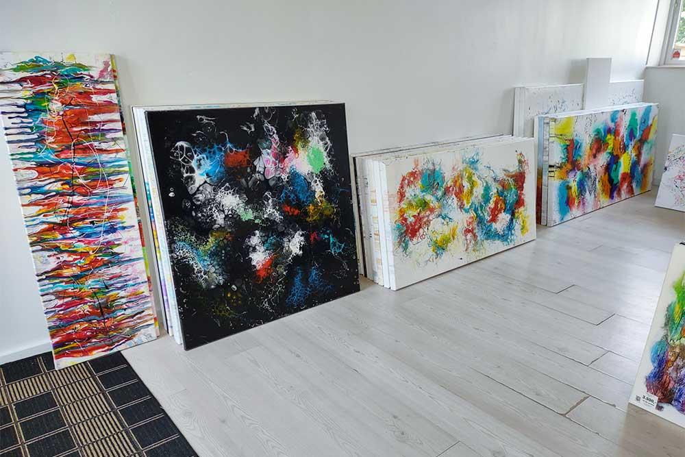 Mit galleri indeholder alle store malerier jeg har lavet